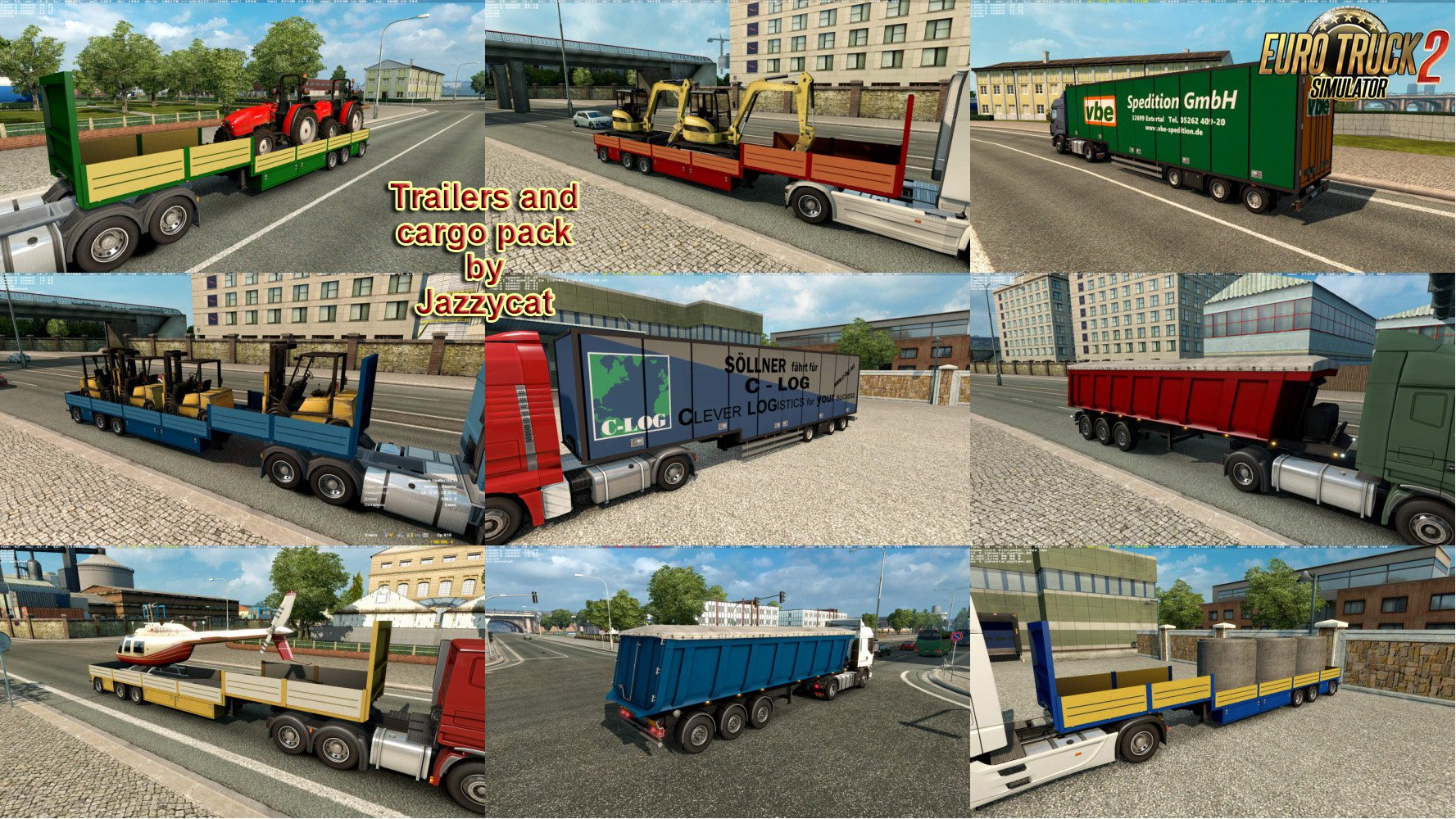 Trailers and Cargo Pack v4.7.1 by Jazzycat [1.27.x]