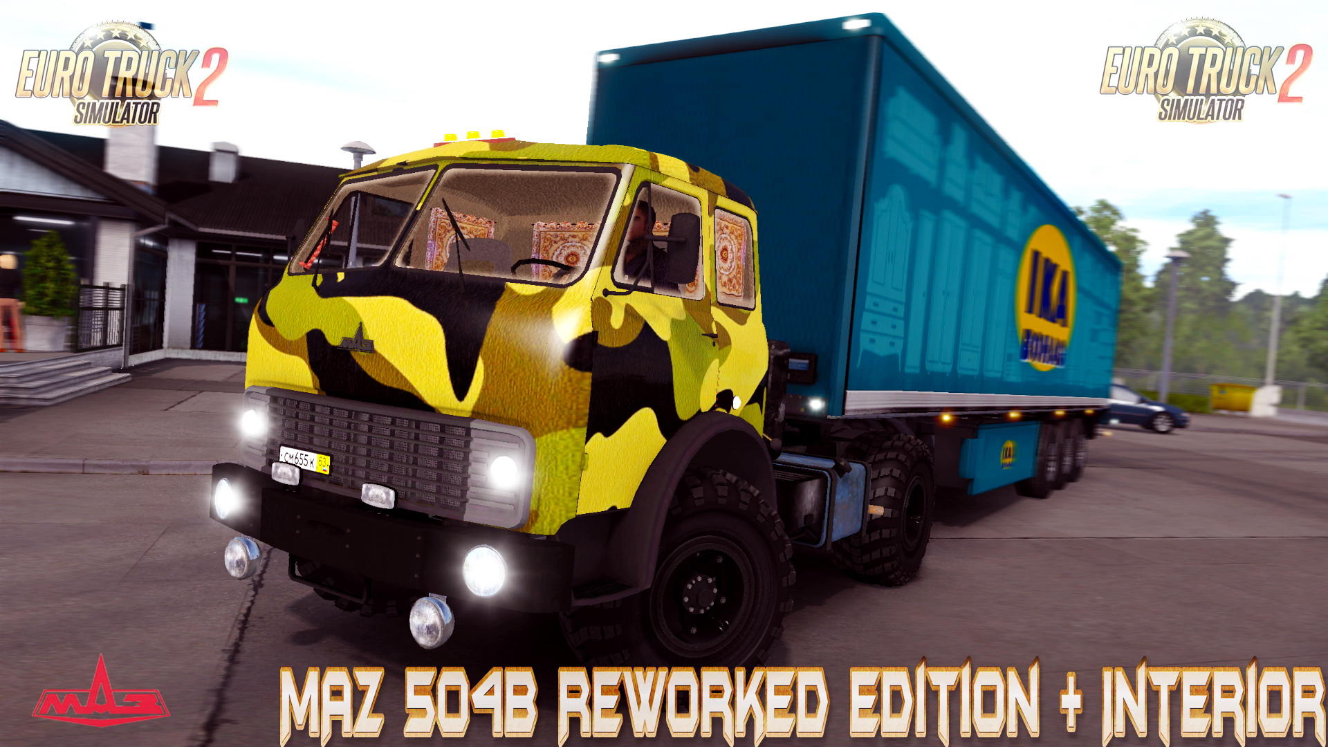 MAZ 504B Reworked Edition + Interior v2.6 (v1.26.x)
