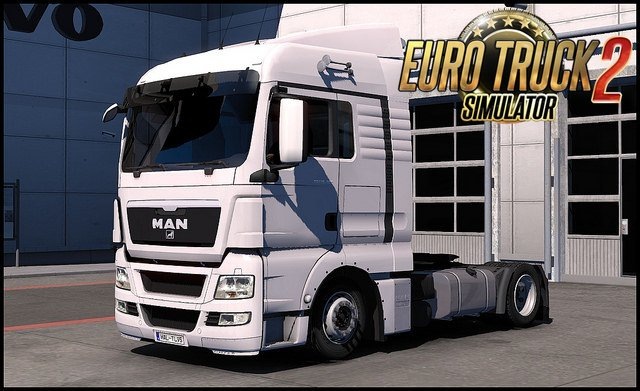 MAN TGX Euro5 Low deck for Ets2