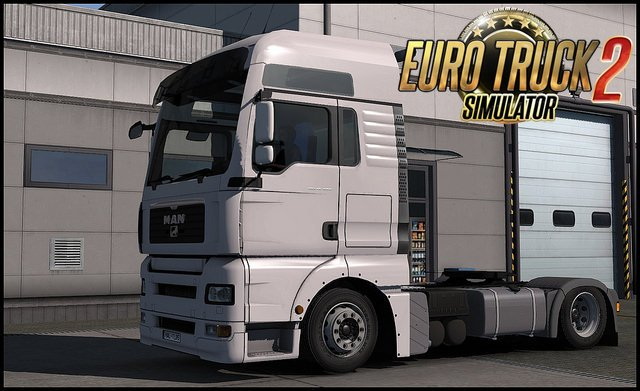 MAN TGA Low deck for Ets2