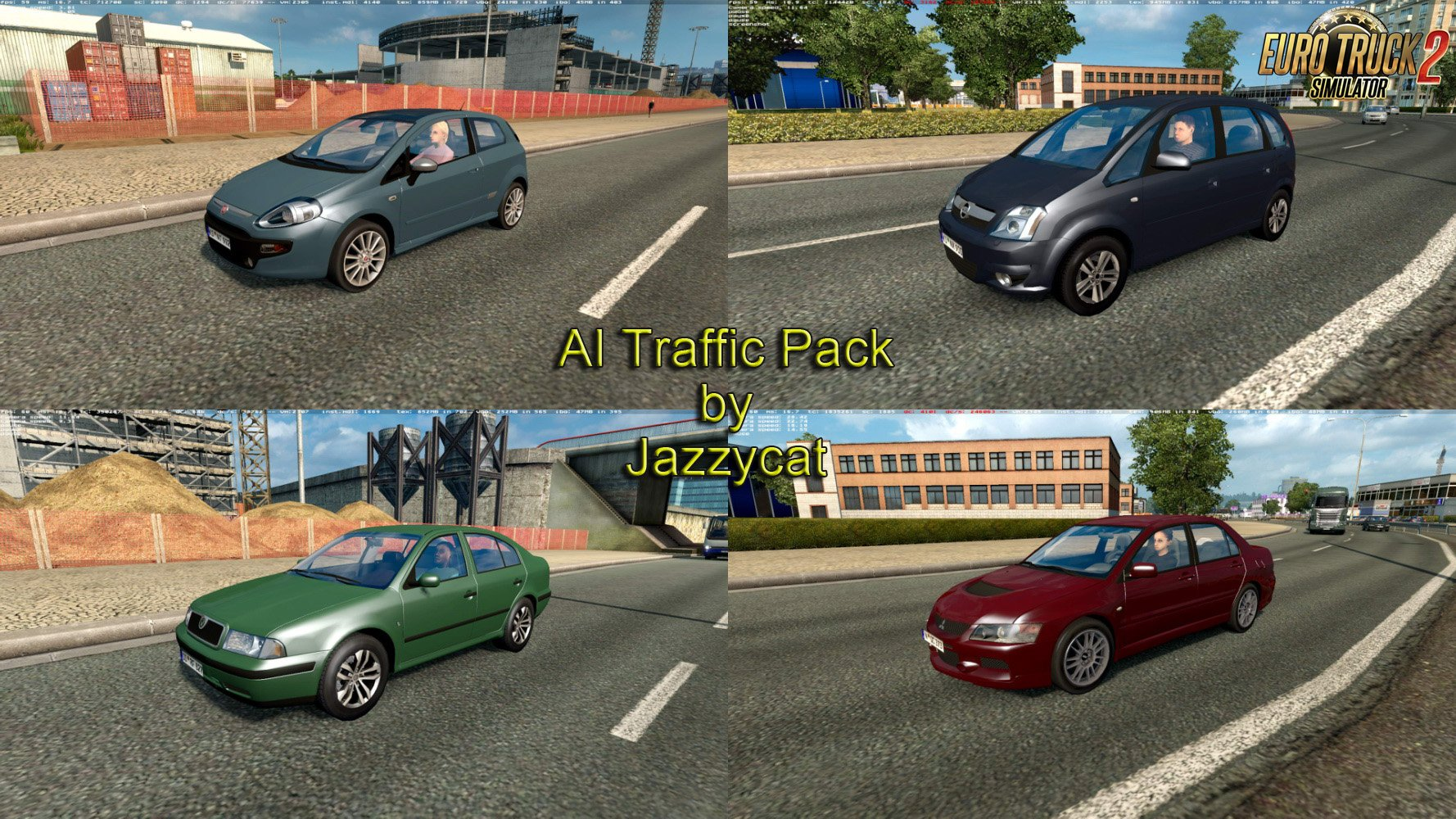 AI Traffic Pack v4.6 by Jazzycat