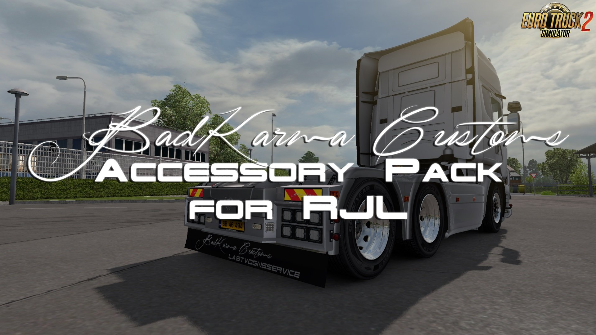 BadKarma Customs Accessory Pack for RJL Scania Trucks