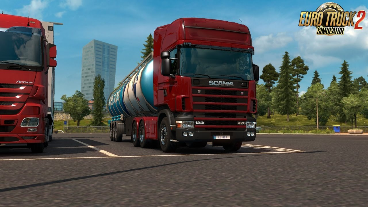 Scania 4 Series Straight 6 Stock Sound v1.0 by Kallum