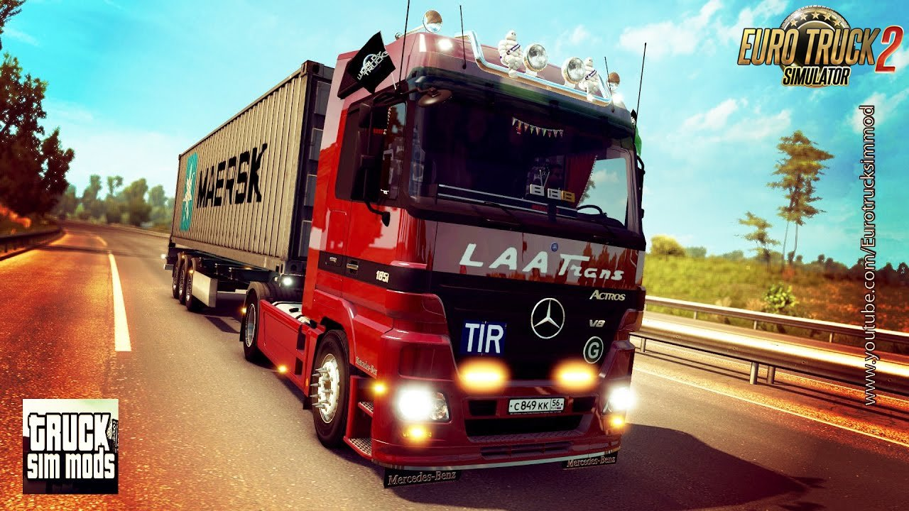 Mercedes MP2 Reworked (1.26.x) - Euro Truck Simulator 2