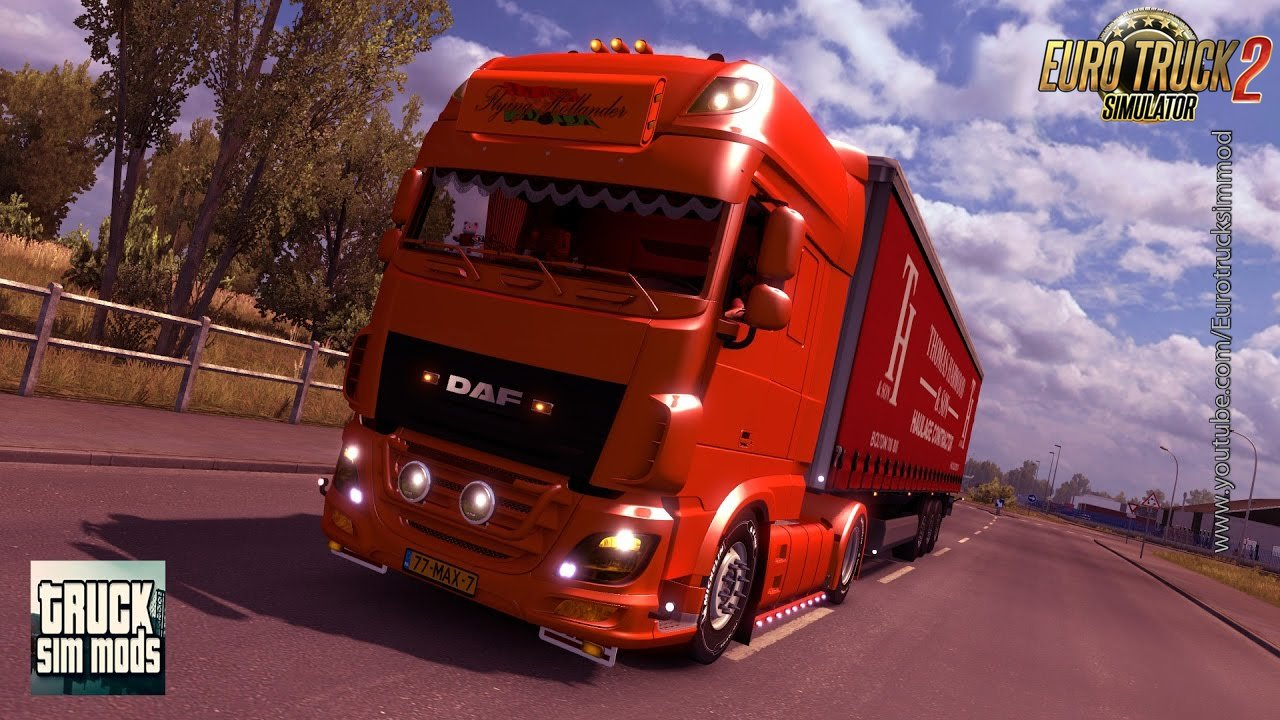 DAF 106 Flying Hollander (1.26.x) - Euro Truck Simulator 2