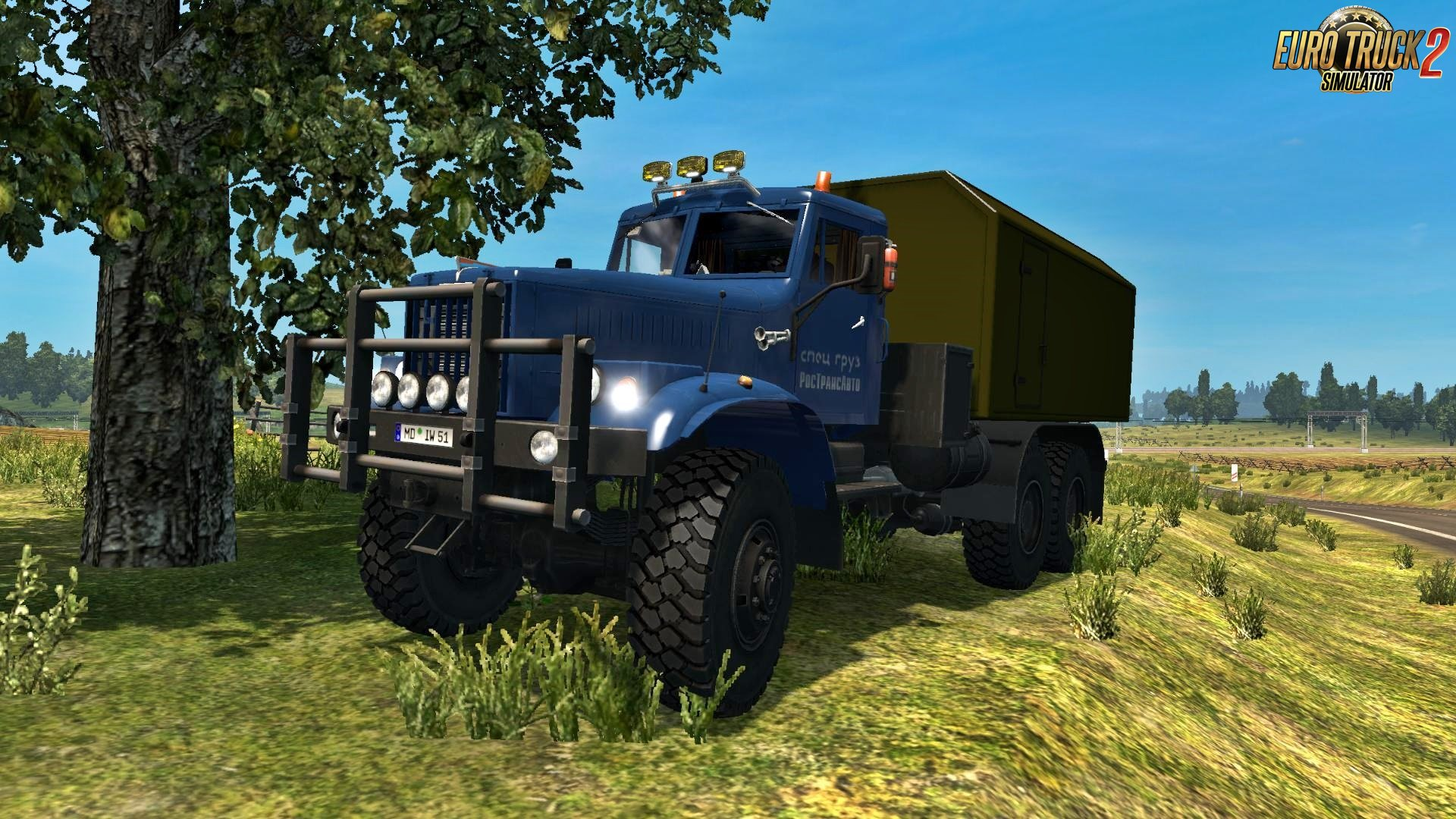 Kraz 255-260 v3.0 + New Wheels for Ets2 [1.26.x]