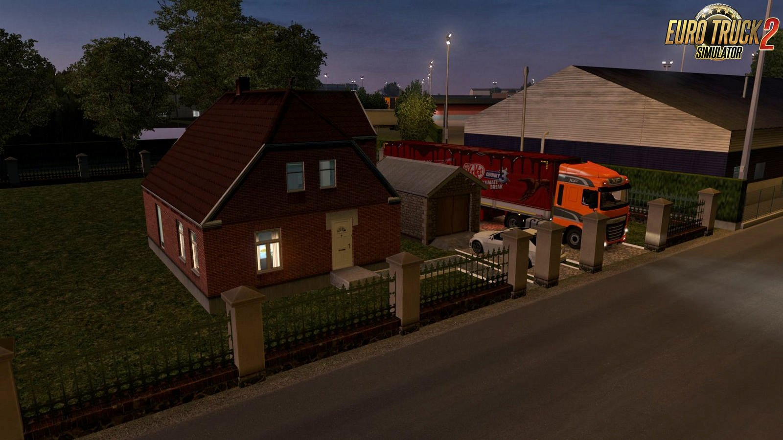 House In Paris for Ets2