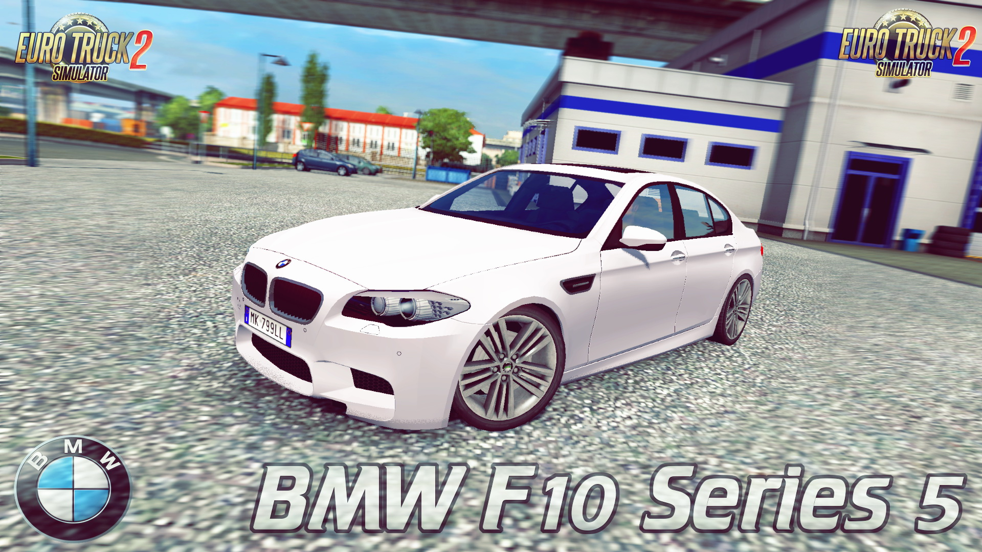 BMW F10 Series 5 (Alpha Version) v1.0 (1.27.x) - Euro Truck Simulator 2