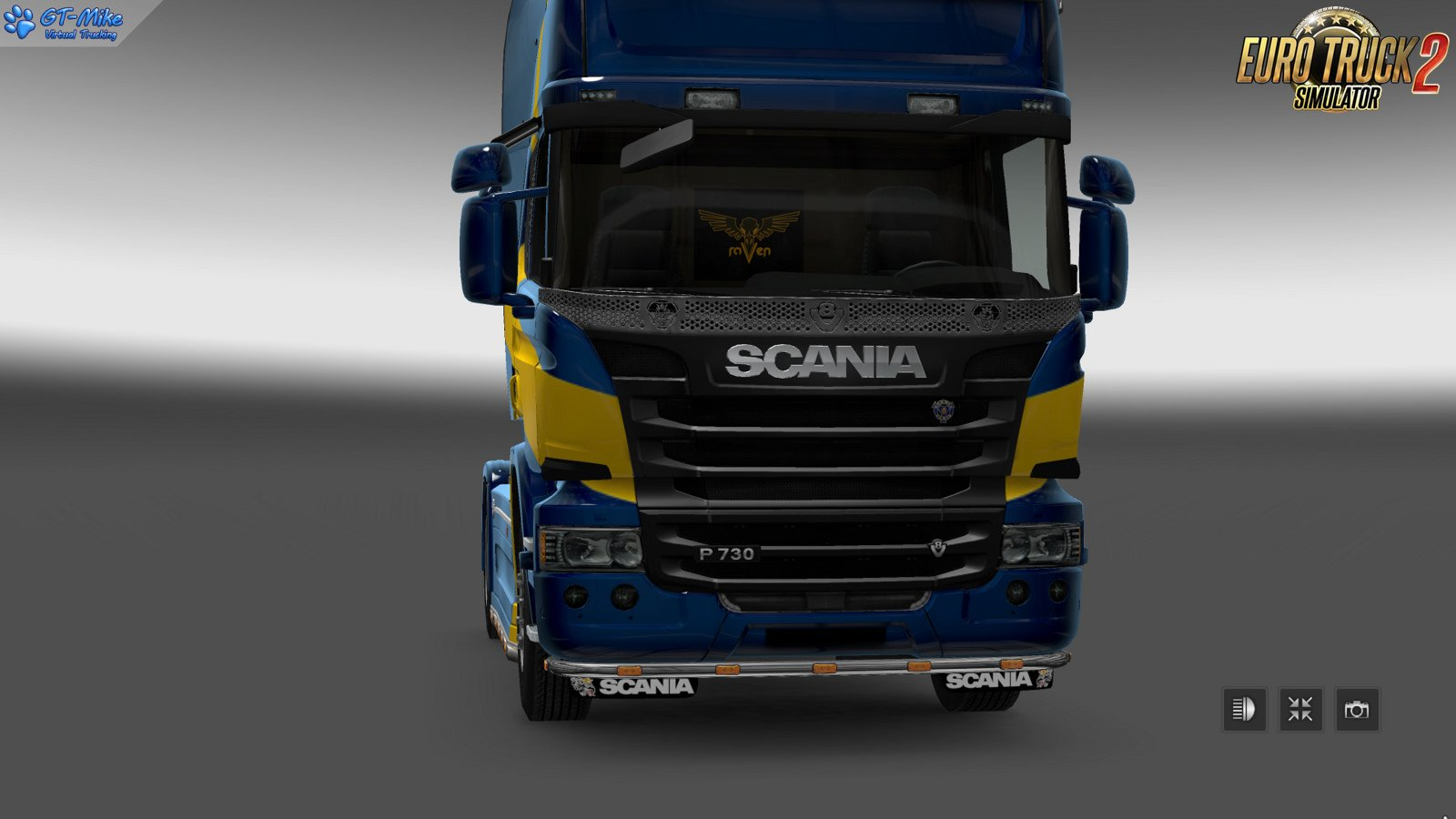 GT-Mods SCS Scania R->P replacer mod v1.0