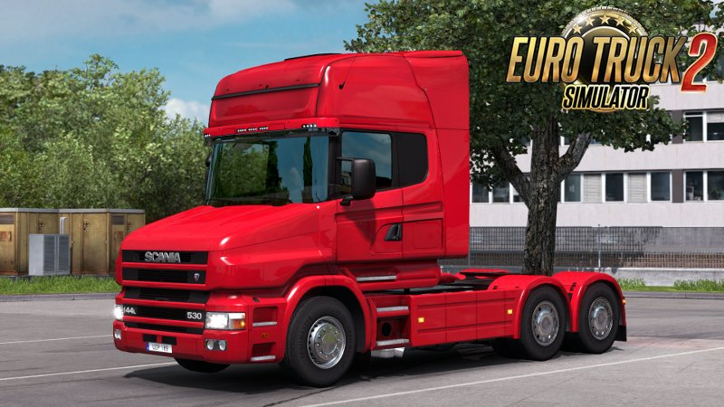 Scania T4 series addon for RJL Scanias v2.2 [1.27.x]