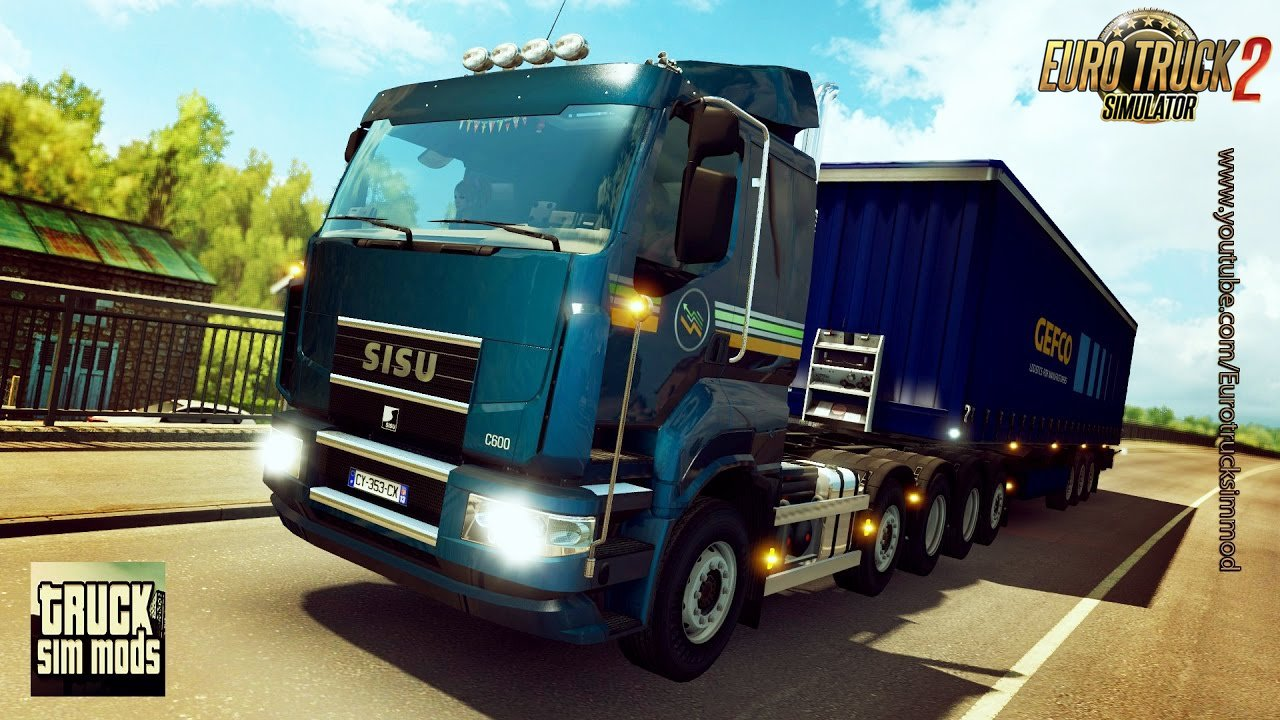 Sisu R500, C500 and C600 v1.2 - Euro Truck Simulator 2