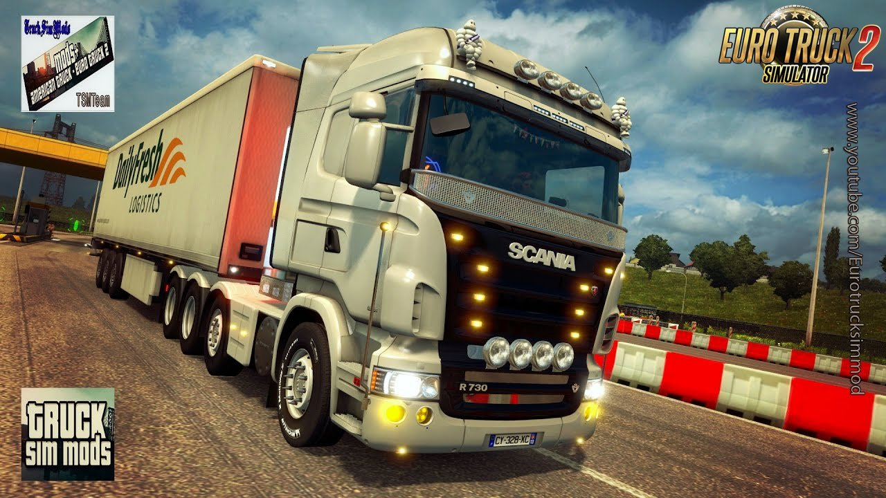 Scania R & Streamline Modifications v2.2 (1.27.x) - Euro Truck Simulator 2