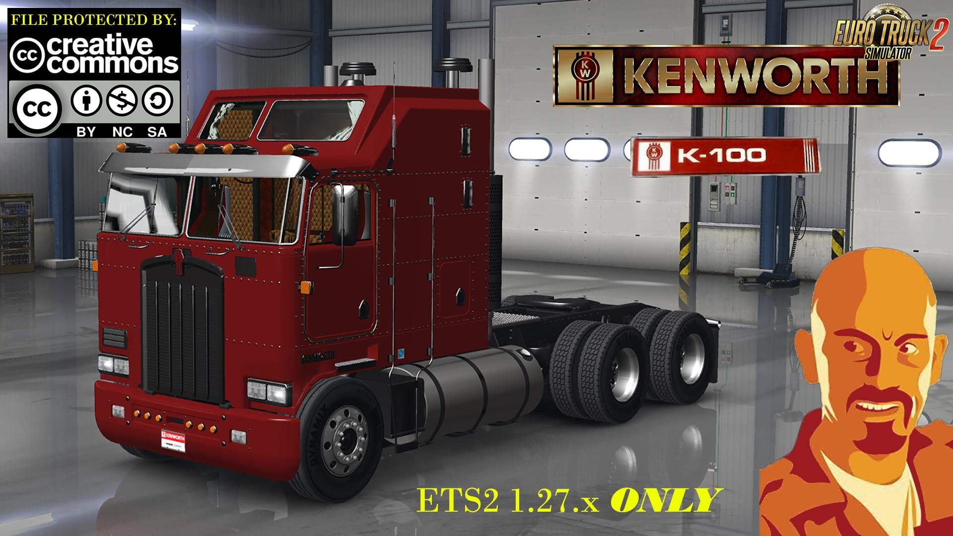 Kenworth K100 for Ets2 [1.27.x]