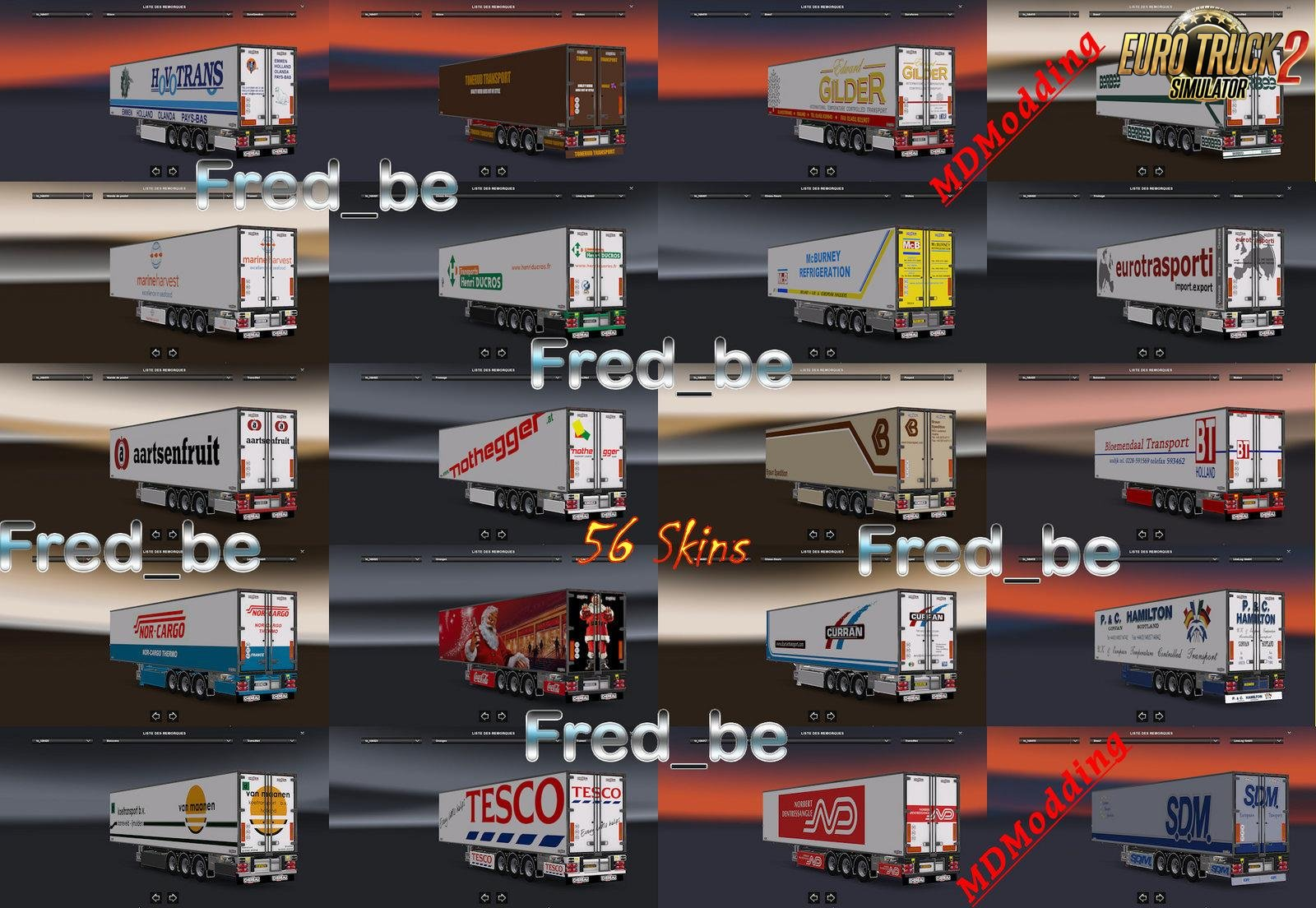 Trailer Pack Chereau v1.27 (Update-1) [1.27.x]