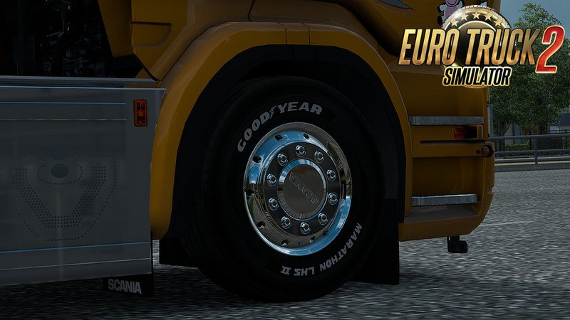 Abass GY Marathon LHS/LHD II White Text for Ets2