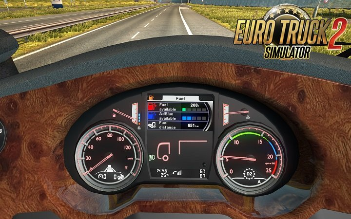 DAF XF Euro6 Board computer with own sounds [1.27.x]