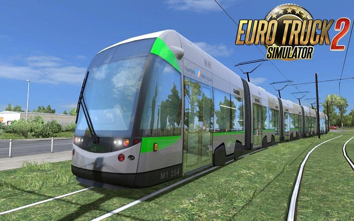 Longer tram for DLC France by Piva