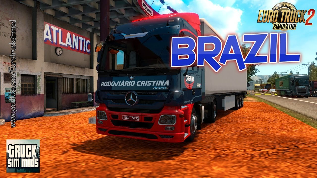 EAA Bus Map v4.2.07  (1.27.x) - Euro Truck Simulator 2