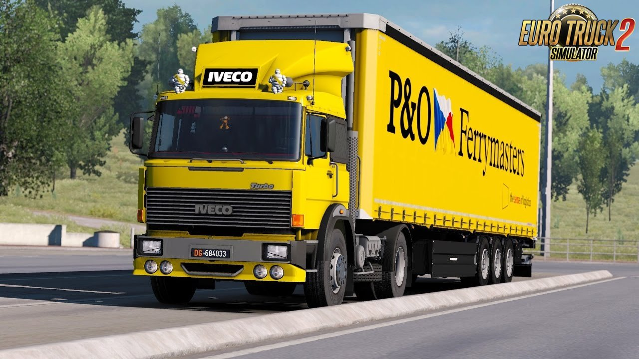 Iveco 190-38 Special (1.27.x): Metz - Bourges route - Euro Truck Simulator 2