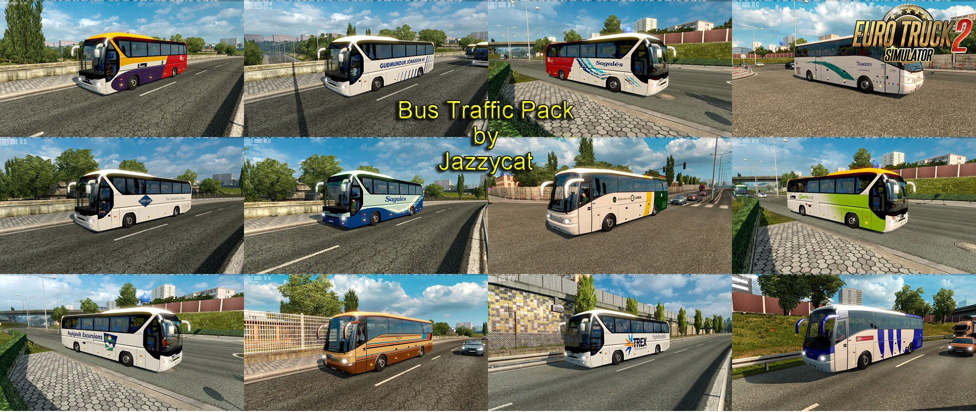 Bus Traffic Pack v1.9 by Jazzycat [1.27.x]