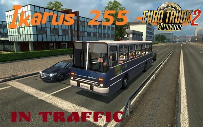 Ikarus bus in traffic [1.27.x]