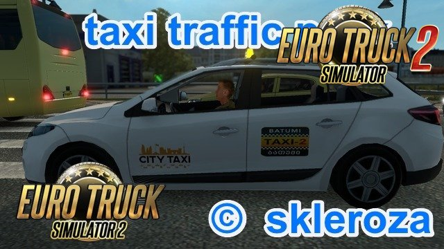 TAXI Traffic Pack v1.4.6 by skleroza