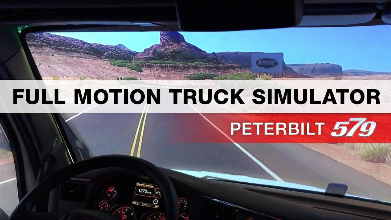 Full Motion Semi Truck Simulator - MATS 2017