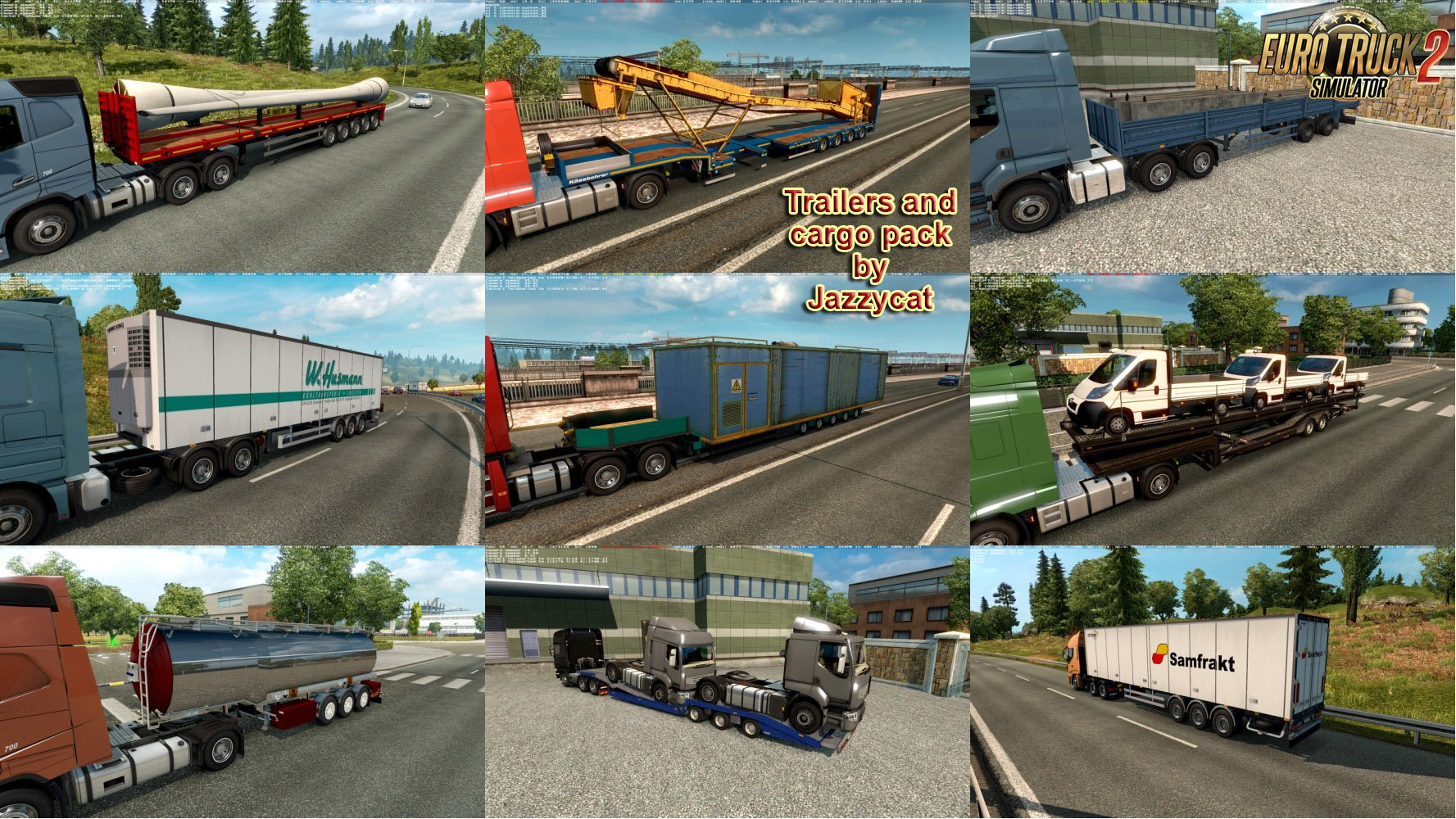 Trailers and Cargo Pack v4.8 by Jazzycat