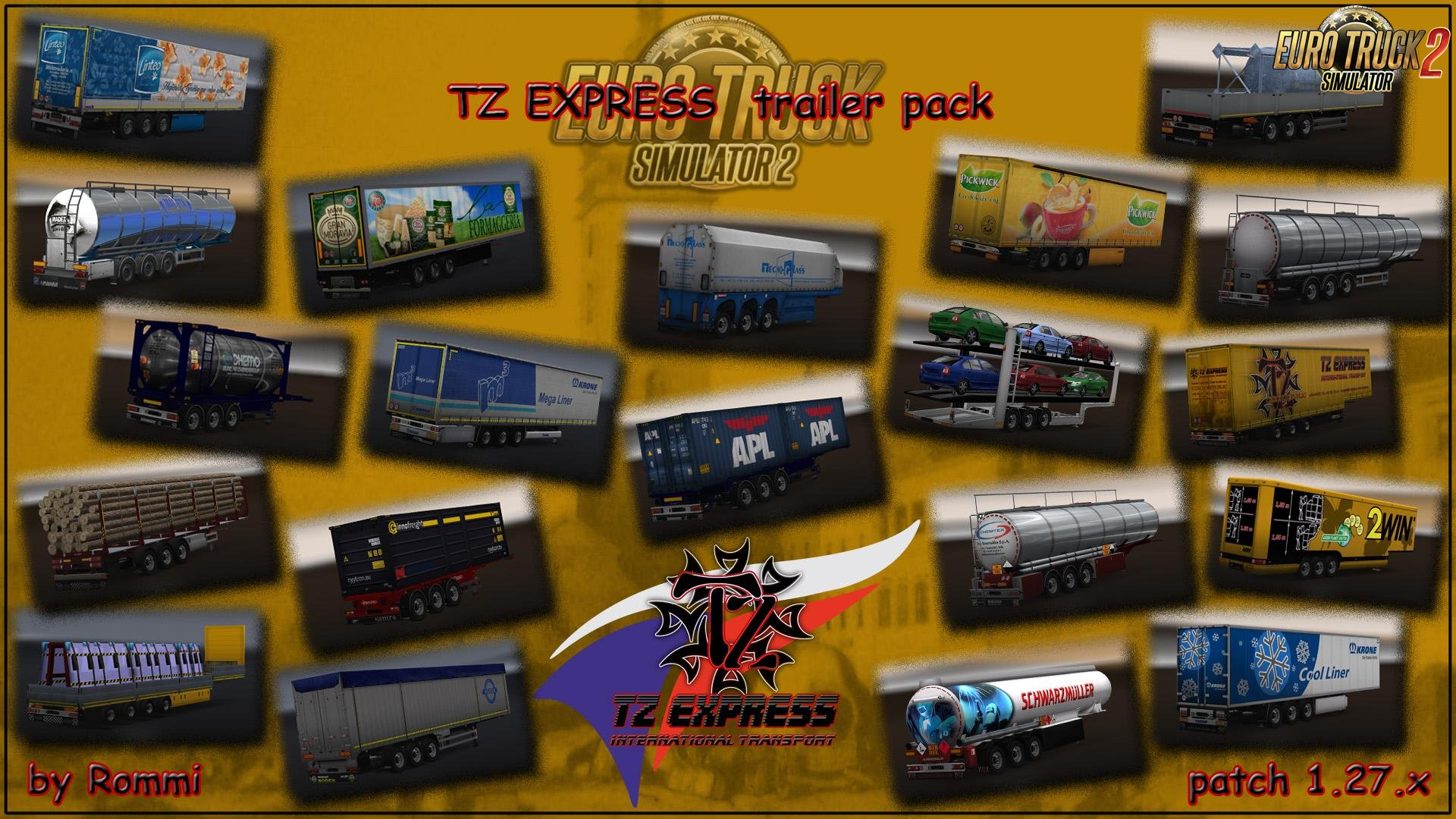 TZ Express Trailers [1.27.x]