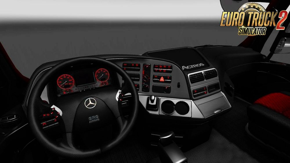 Mercedes Redline Interior v1.0 by OveRTRucK (1.27.x)