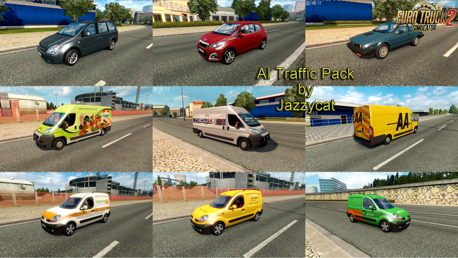 AI Traffic Pack v4.8 by Jazzycat