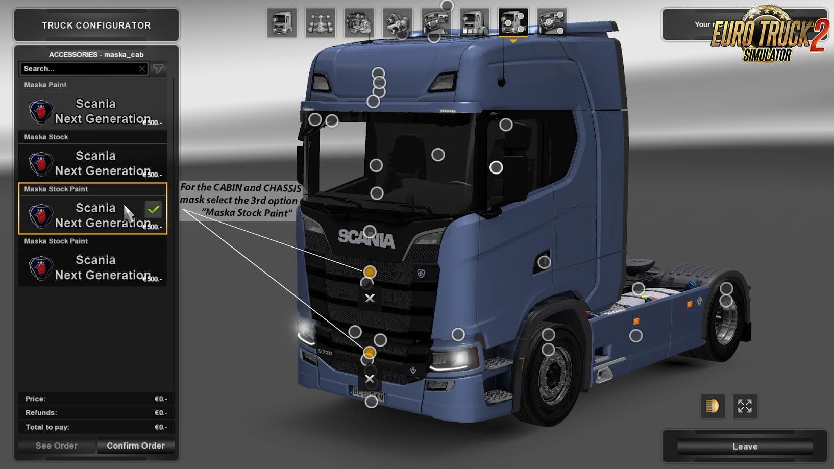 Real V8 Style for Scania S730 [1.27.x]