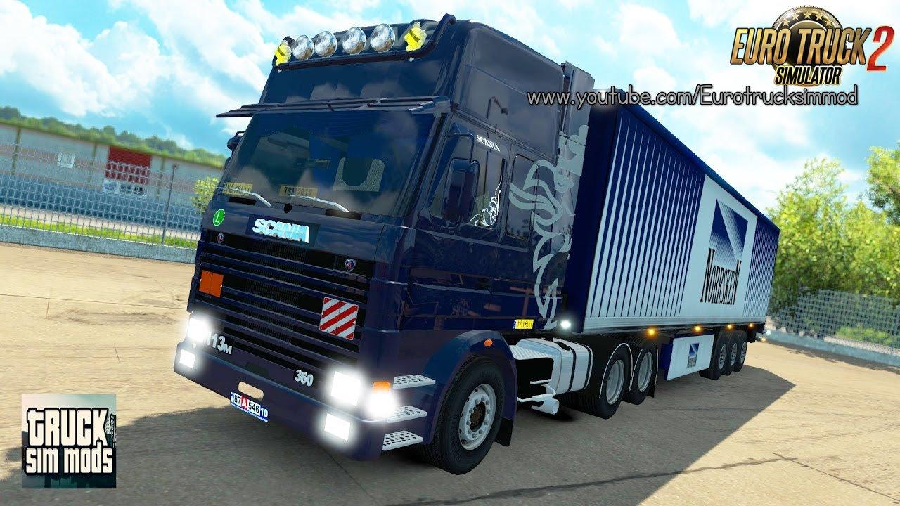 SCANIA 113M & 143M (v1.27.x) - Euro Truck Simulator 2