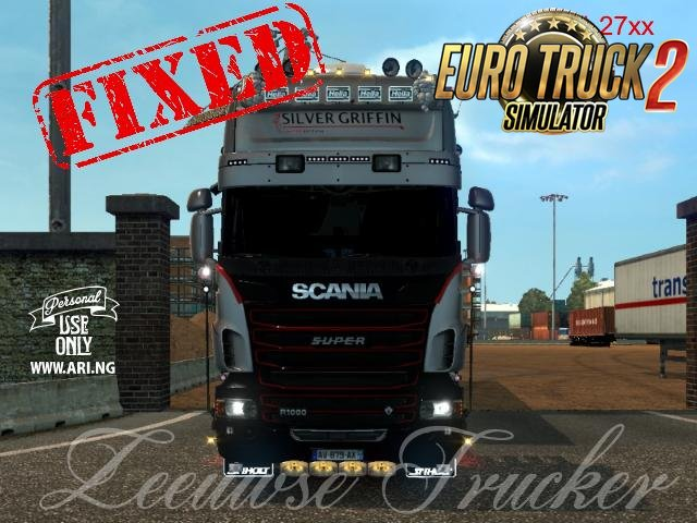 Fixed Scania SCS edit by Zeeuwse Trucker