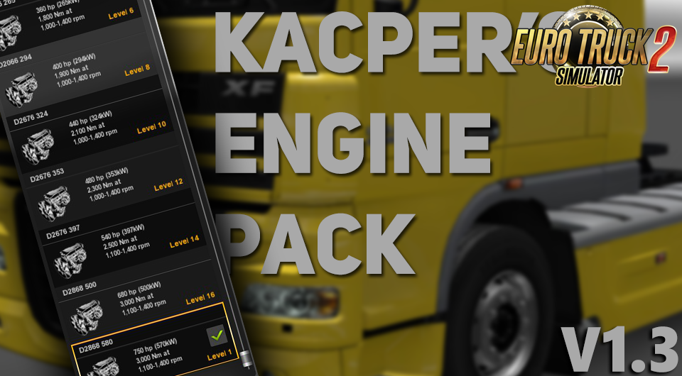 Kacper's Engine Pack v1.3 [1.27.x]