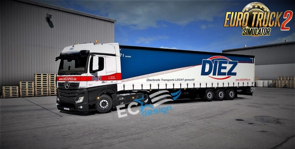 Diez Spedition Combo Skin by ECdesign [1.27.x]