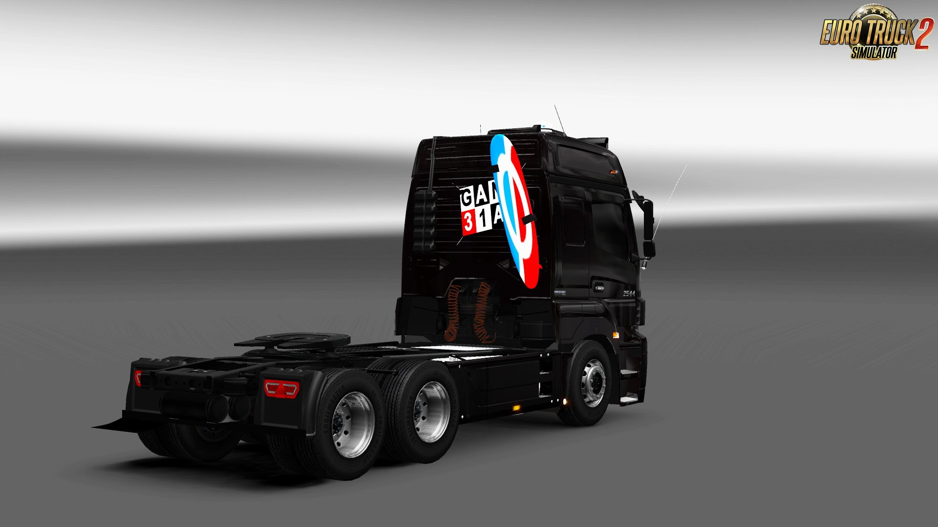 Mercedes Benz Axor 2544 + Interior v1.0 (1.27.x)