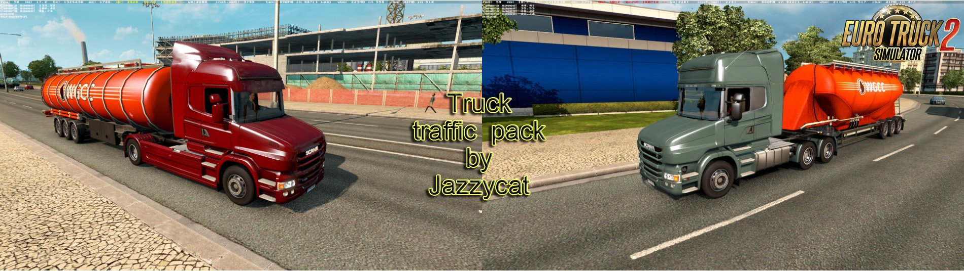 Truck Traffic Pack v2.5 by Jazzycat