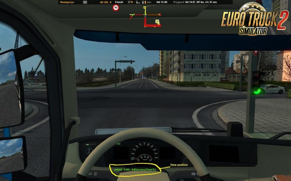New Route Advisor v1.2 by XEBEKzs (Ets2-Ats)