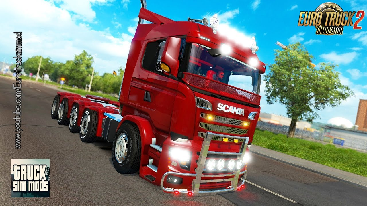 Carls Scania R&S v9.0 (1.27.x) - Euro Truck Simulator 2