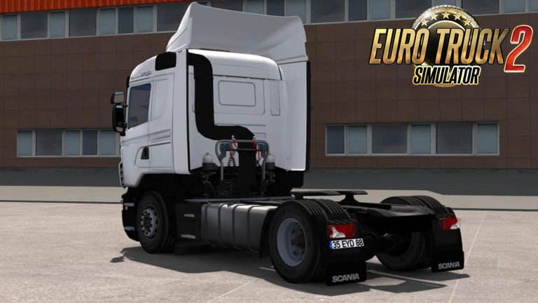 Scania G420 + Interior + Trailer Tırsan v4.0 (1.28.x)