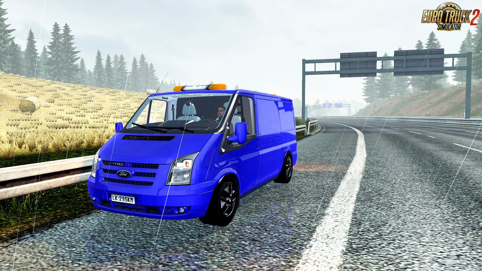 Ford Transit + Interior v1.0 by Azorax Modding (1.27.x)