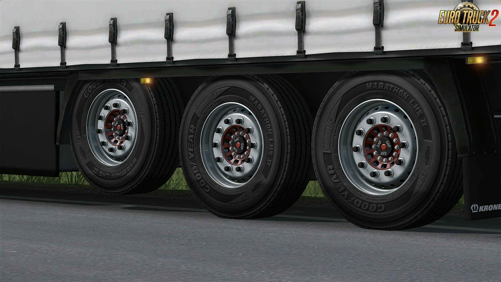 Wheels for trailer by xsandr