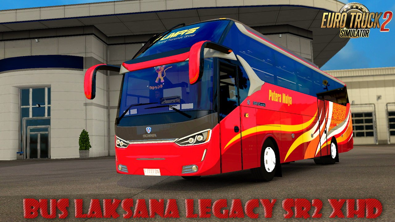 bus laksana legacy sr2 xhd interior v1 0 ets2. Black Bedroom Furniture Sets. Home Design Ideas