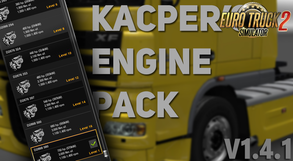 Kacper's Engine Pack v1.4.1 [1.27.x]