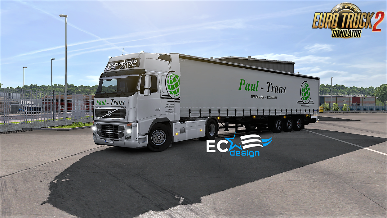 Paul - Trans Combo Pack Skin v1.0 by ECdesign (1.27.x)