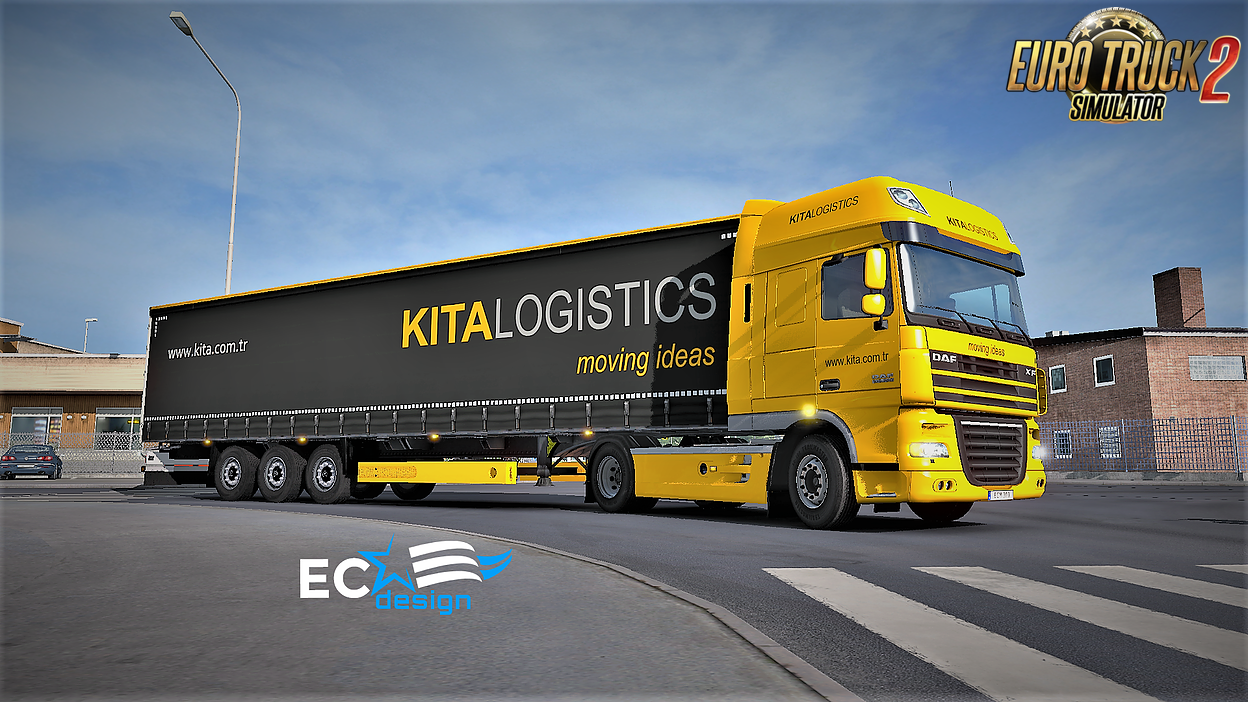 KITA Logistics Combo Pack Skin v1.0 by ECdesign (1.27.x)