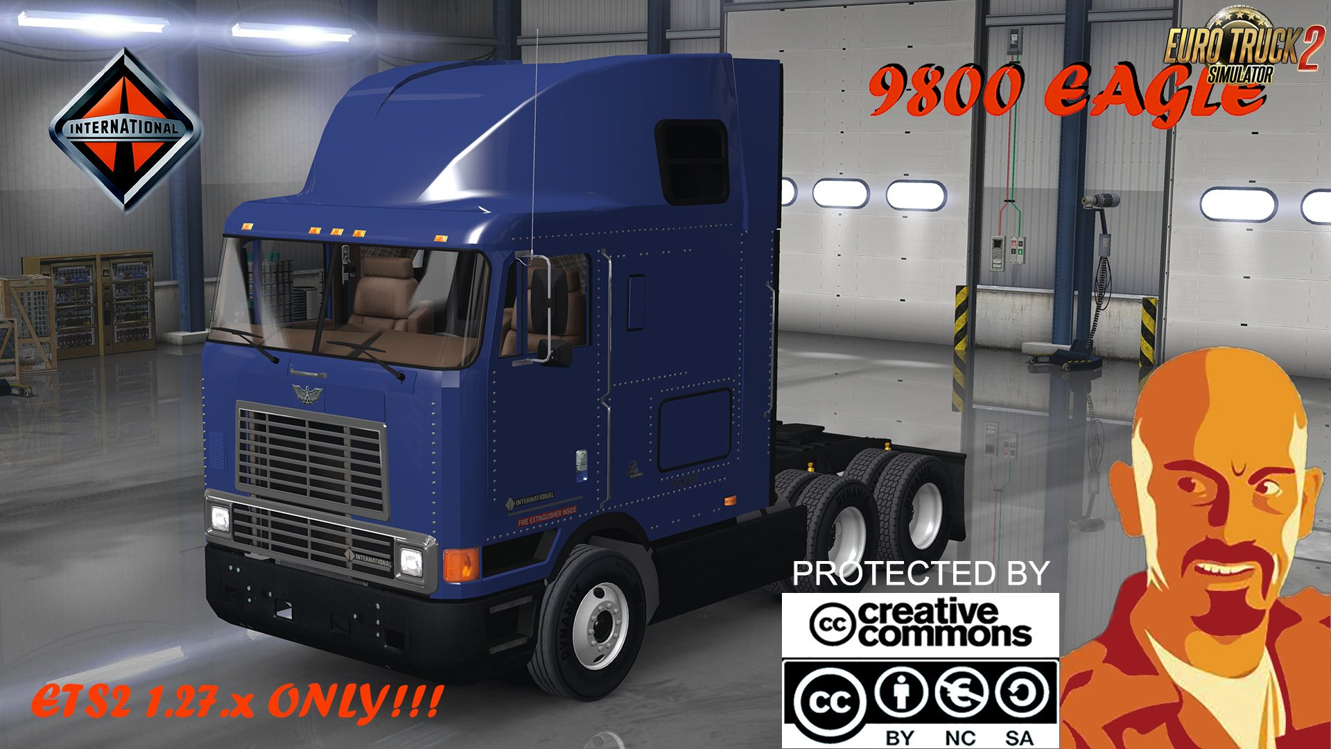 International 9800 Eagle v1.0 by CyrusTheVirus (1.27.x)