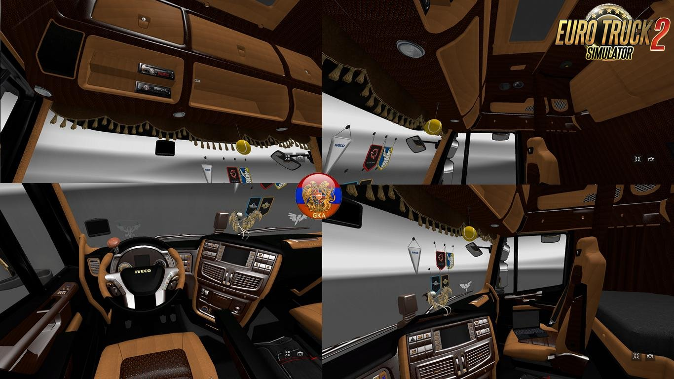 Iveco Hi-Way New Animations Interior v1.0 (1.27.x)