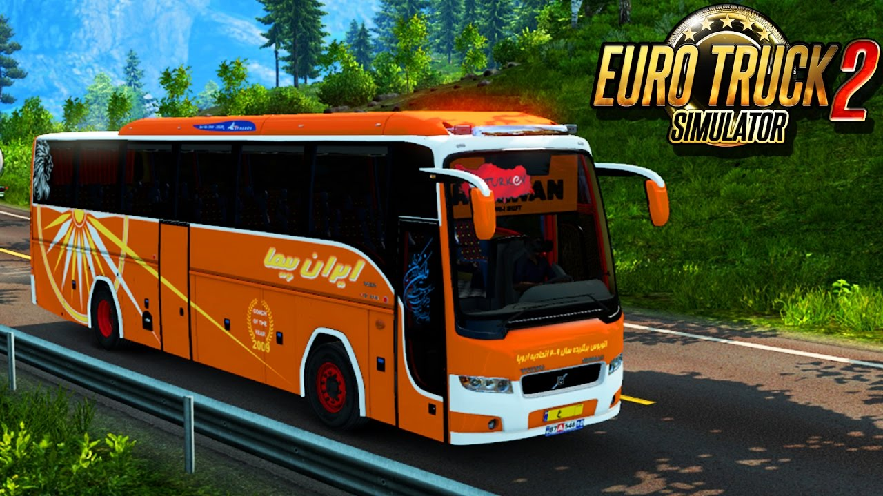 Bus Runiran Volvo B9R I Shift + Interior v1.0 (1.27.x)